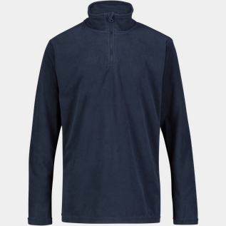 Basic 1/2 Zip Fleece, hættetrøje, junior