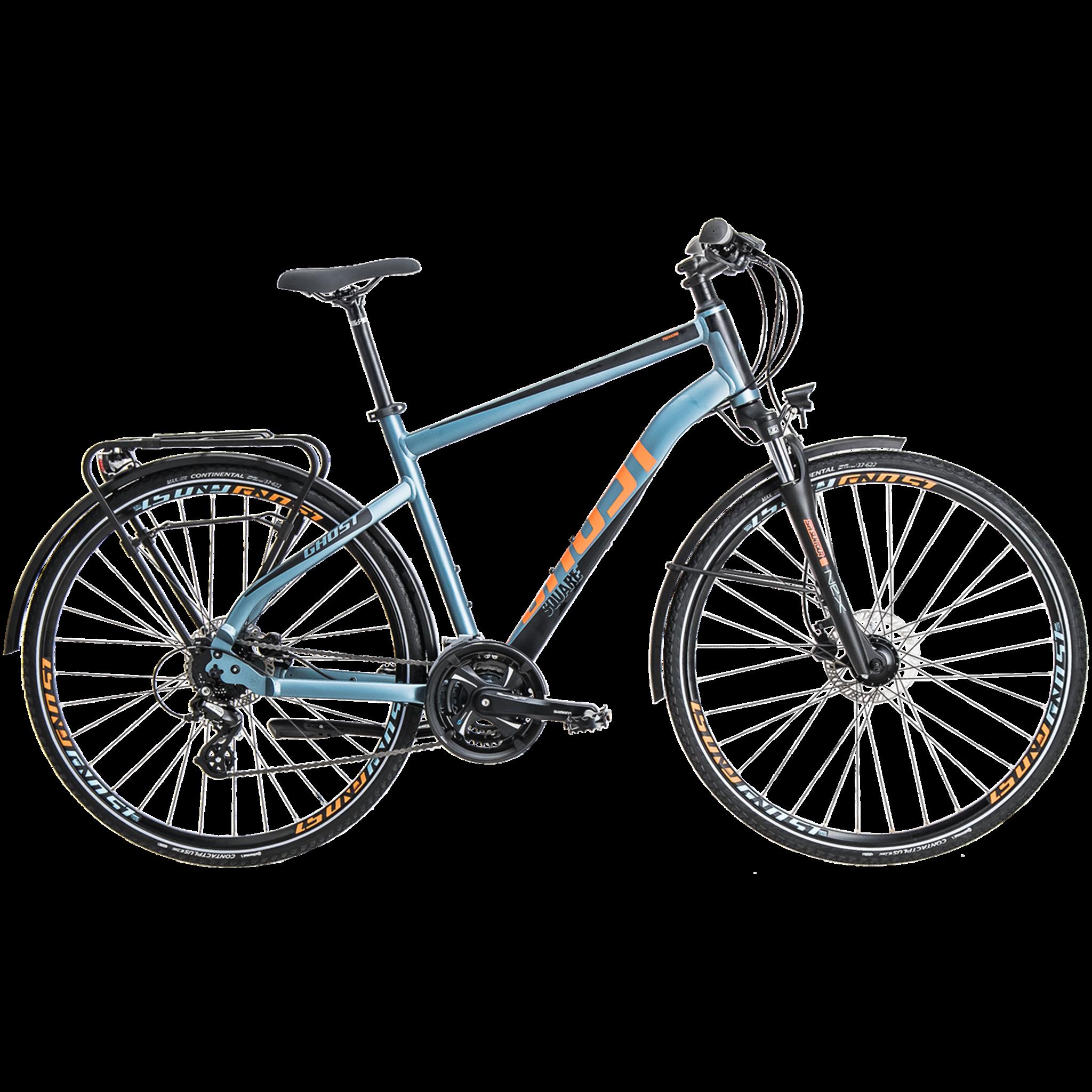 Square Trekking 2,8 20, tur- og pendlercykel, herre, Blå | city-cykel