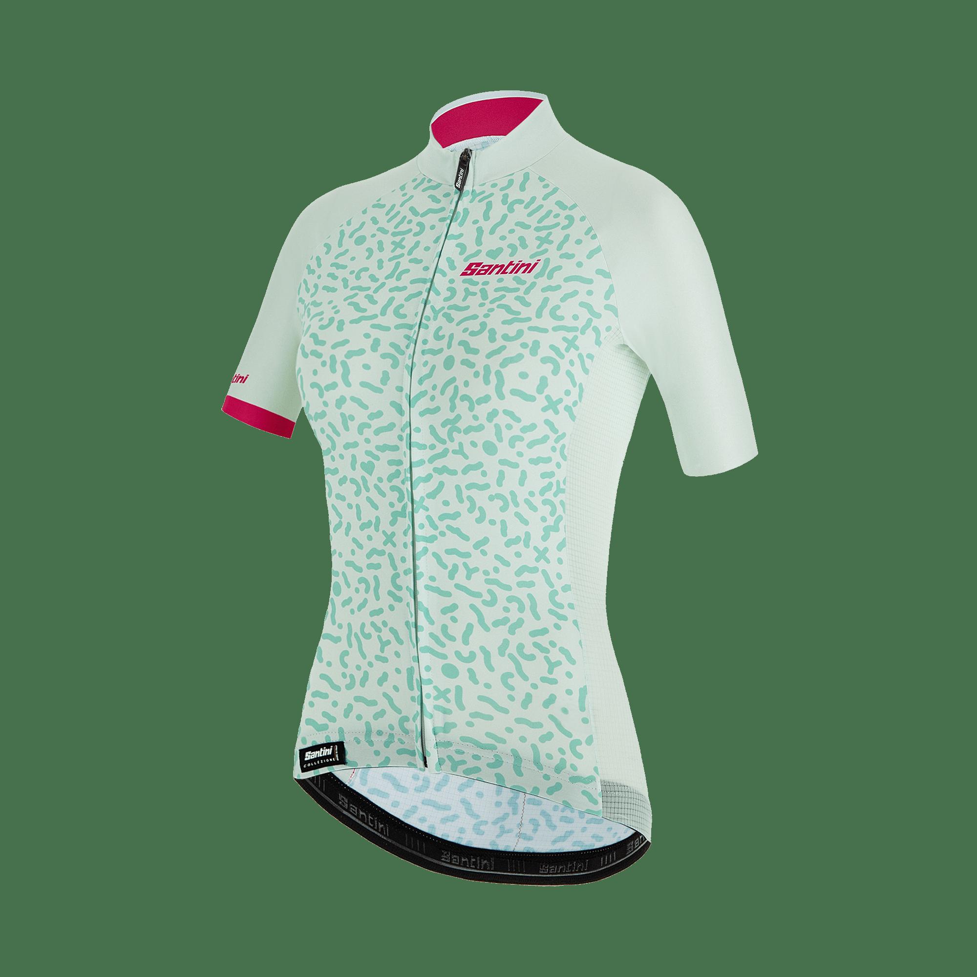 Tono Flusso Short Sleeve, cykeltrøje, dame, Hvid   cykeltrøje