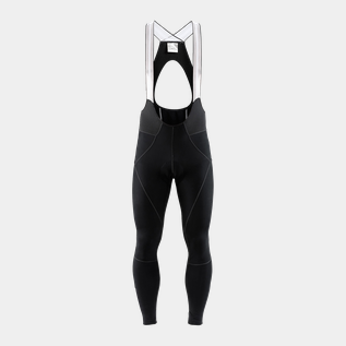 Ideal Pro Thermal BIB Tights w/pad 19/20, lange cykelbukser, herre