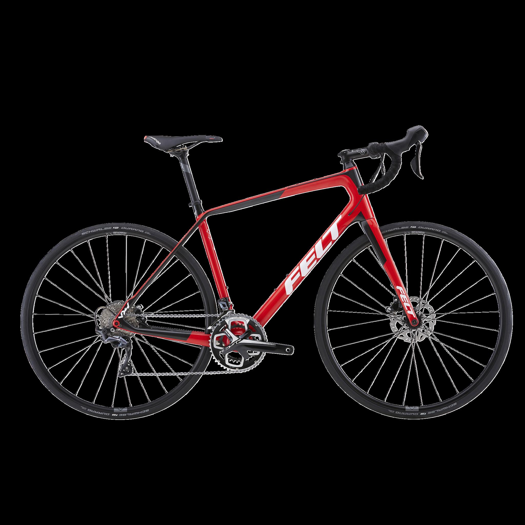 VR4 Ultegra disc 18, racercykel, unisex, Red/Carbon/White | Road bikes