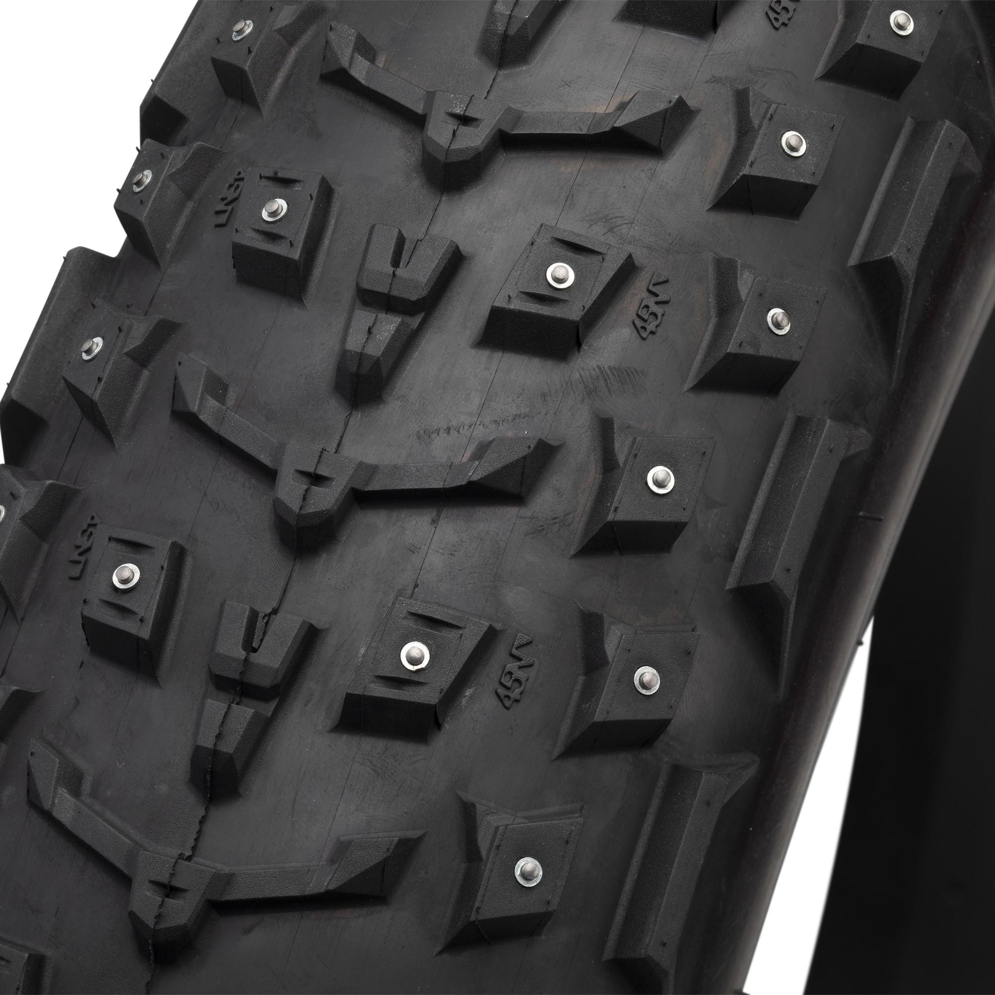 Dillinger 5 26x4,6 60tpi 258 studtire, pigdæk til fatbike, Sort | cykeldæk