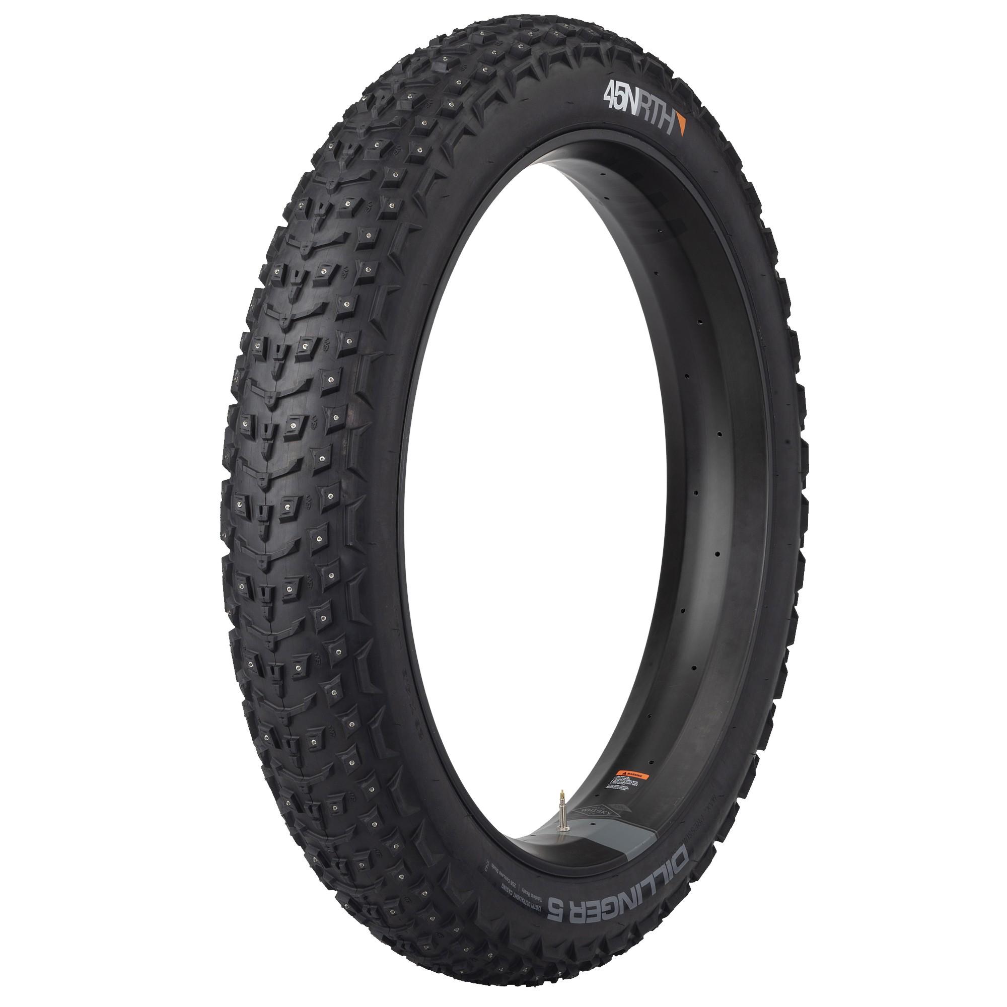 Dillinger 5 26x4,6 120tpi 258 studtire, pigdæk til fatbike, Blå | Tyres