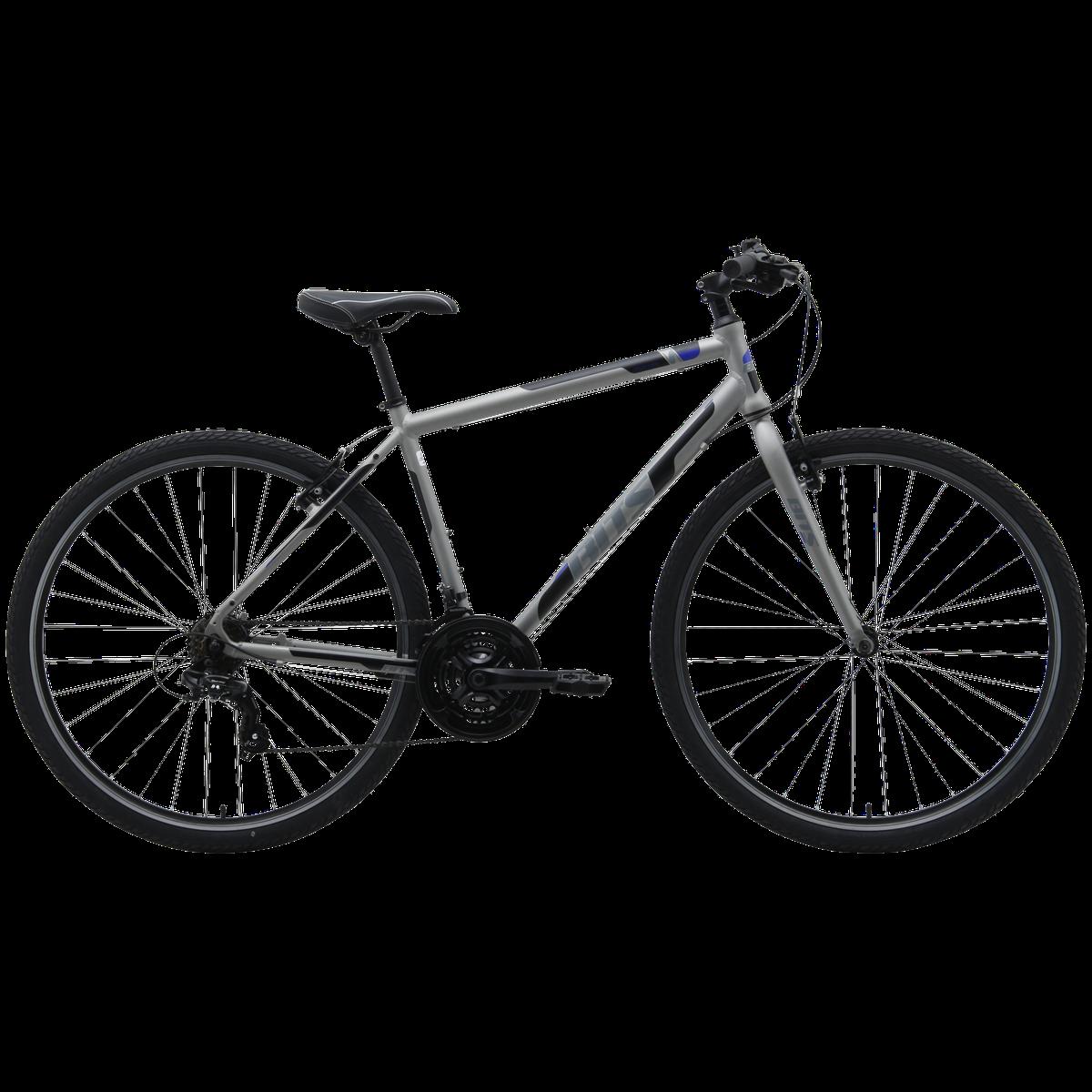 Roller 21, hybridcykel , Grå | City