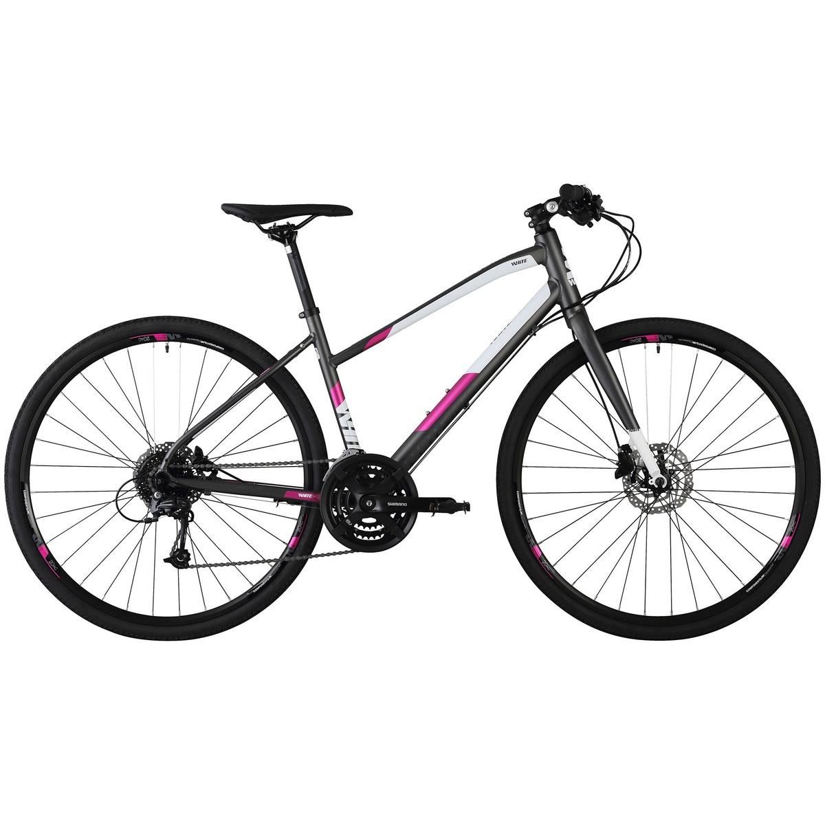 SC Comp FF Ane 19, hybridcykel, dame, Grå | City-cykler