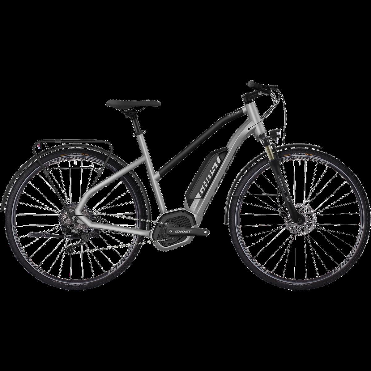 HYB Square Trekking 2,8 CX5 19, elcykel, dame, Hvid   City