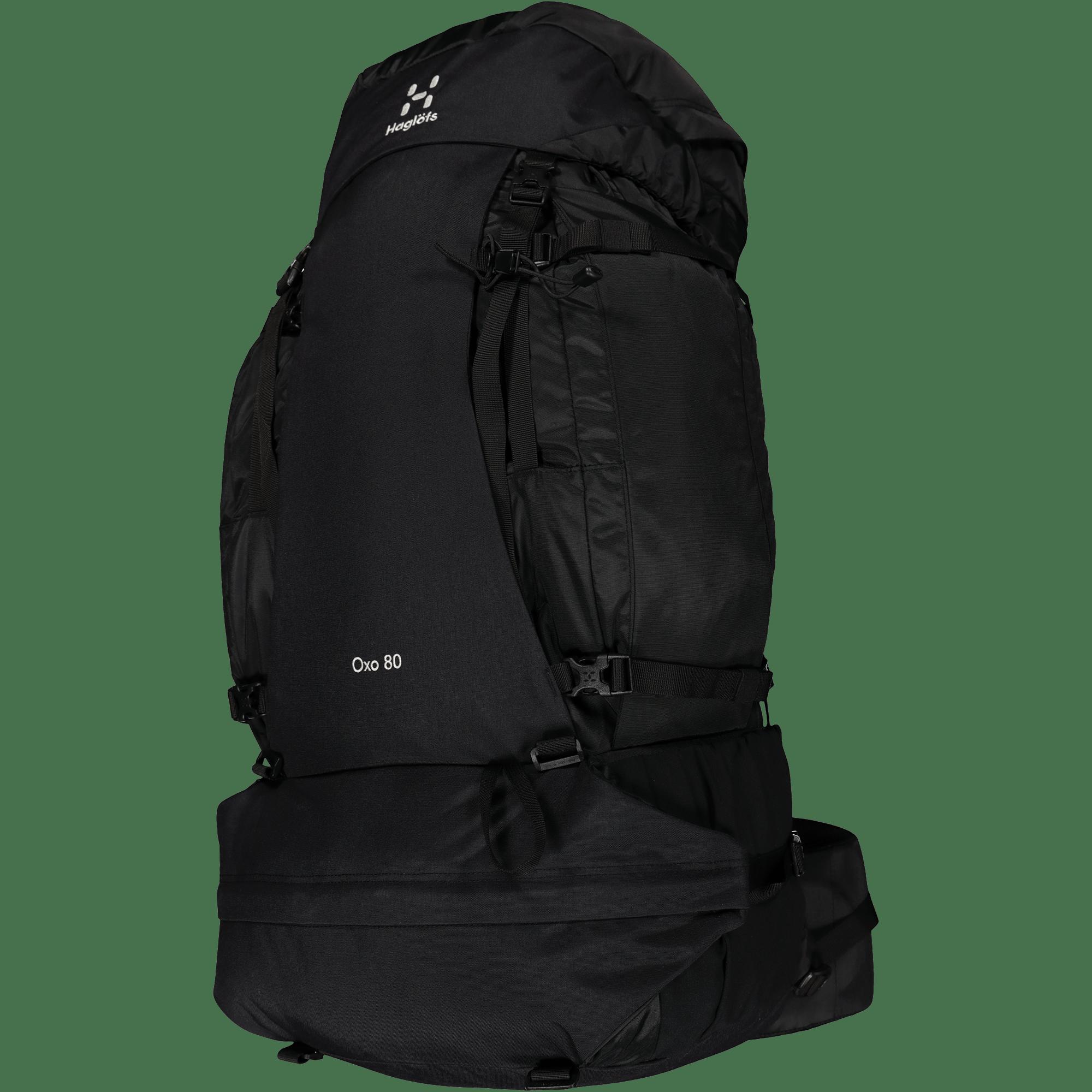 Oxo 80, turrygsæk, Sort | rygsæk og rejsetaske