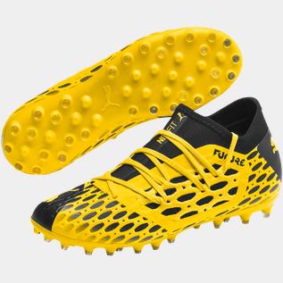 Puma Future 5.3 Netfit MG Q1 20, fodboldstøvle, junior yellow Fodboldstøvler | XXL