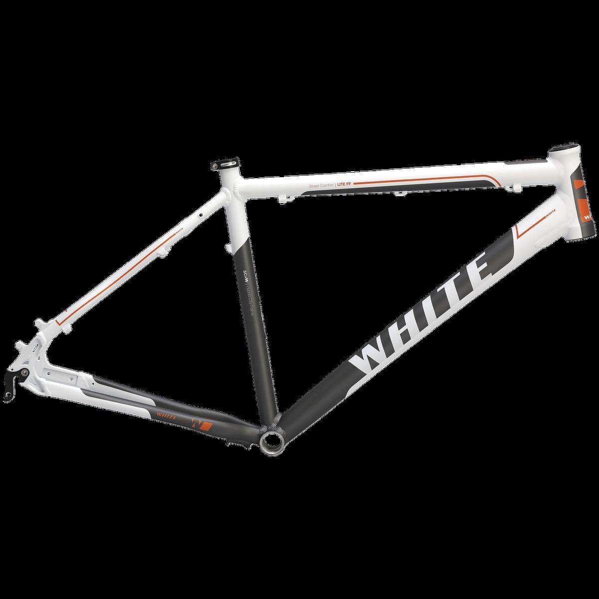 White Frame SC Lite FF 16, cykelstel | Stel og rammer